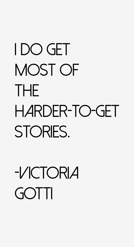 Victoria Gotti Quotes