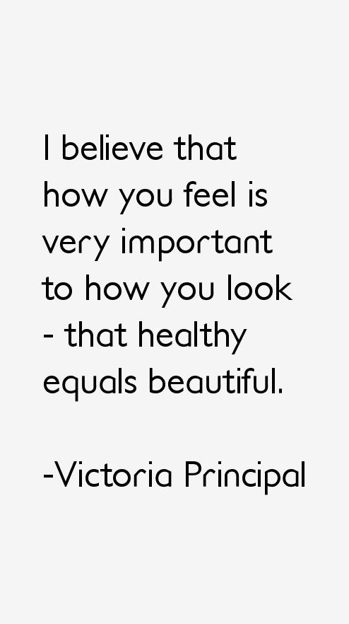 Victoria Principal Quotes