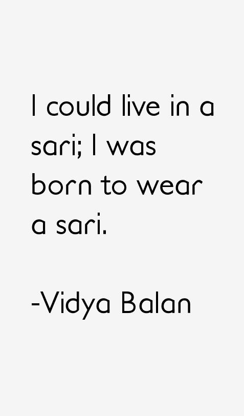 Vidya Balan Quotes