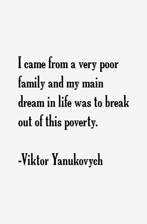 Viktor Yanukovych Quotes