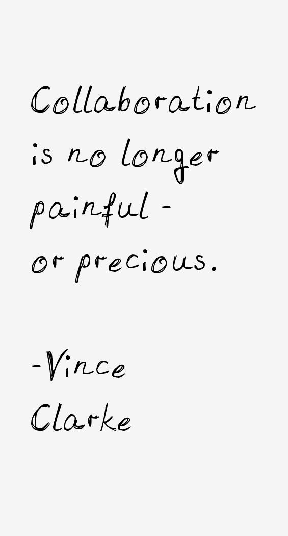 Vince Clarke Quotes