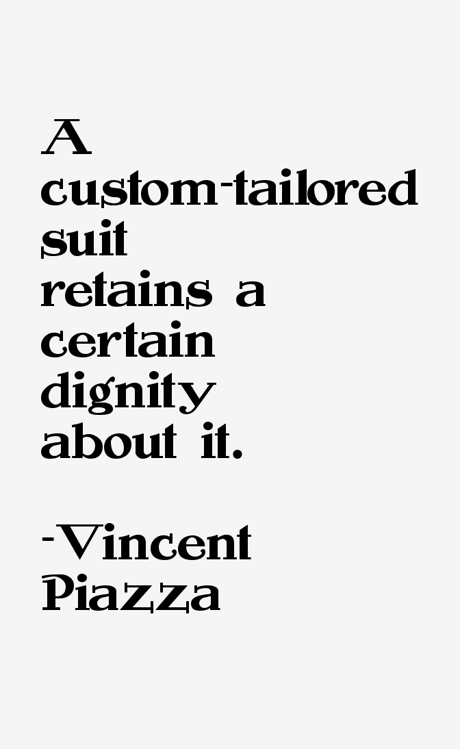 Vincent Piazza Quotes