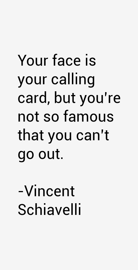 Vincent Schiavelli Quotes