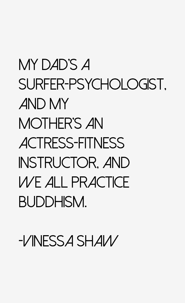 Vinessa Shaw Quotes