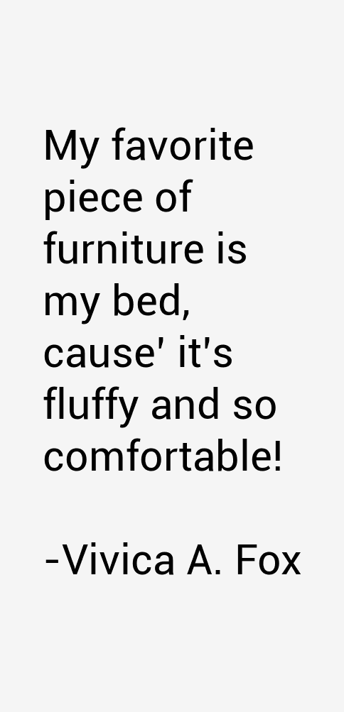 Vivica A. Fox Quotes