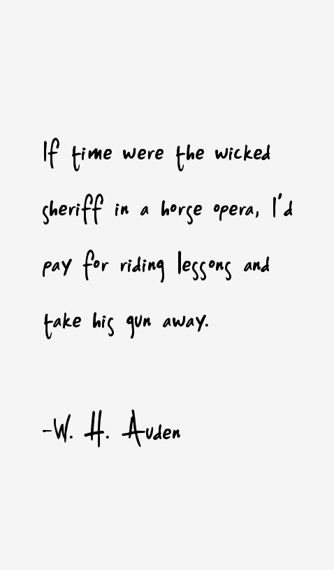 W H Auden Quotes Sayings Page 4