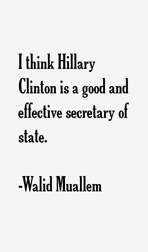 Walid Muallem Quotes