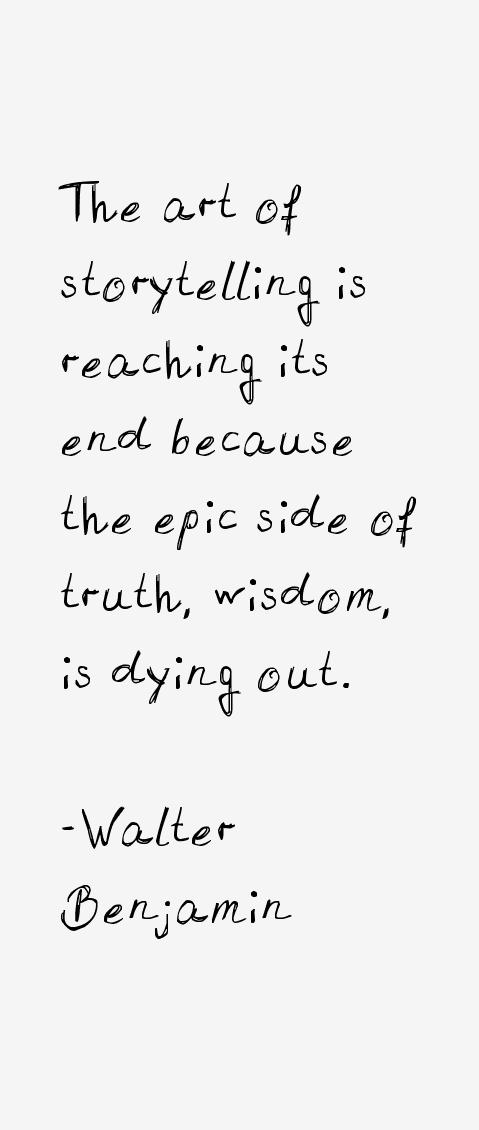 Walter Benjamin Quotes