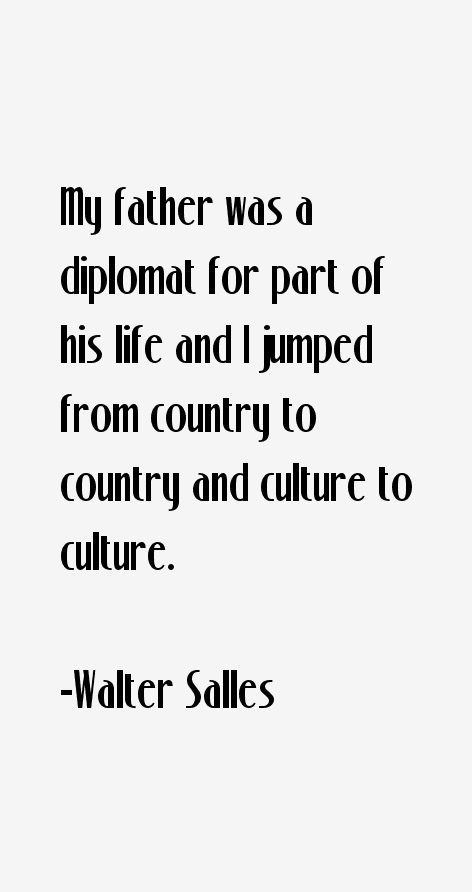 Walter Salles Quotes