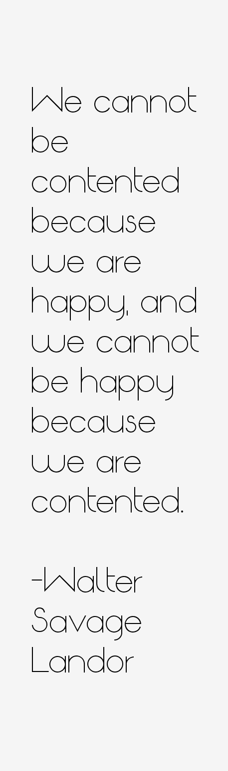 Walter Savage Landor Quotes