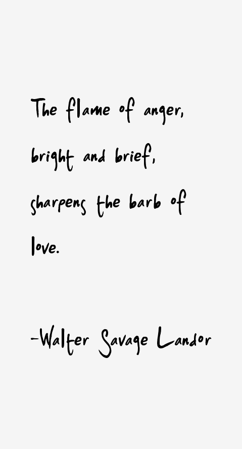Walter Savage Landor Quotes