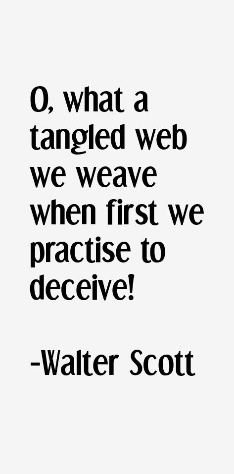 Walter Scott Quotes