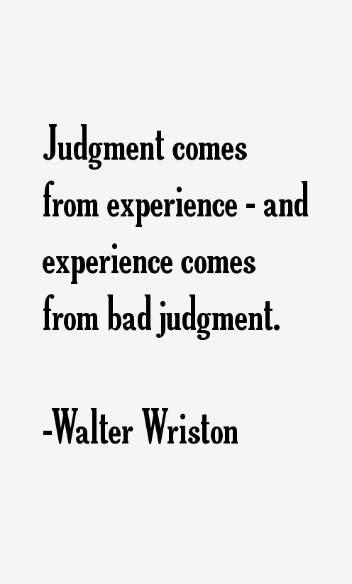 Walter Wriston Quotes