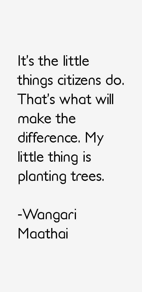 Wangari Maathai Quotes