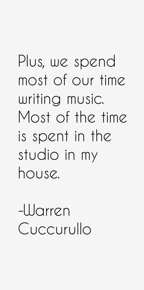 Warren Cuccurullo Quotes