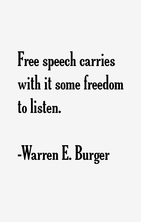 Warren E. Burger Quotes