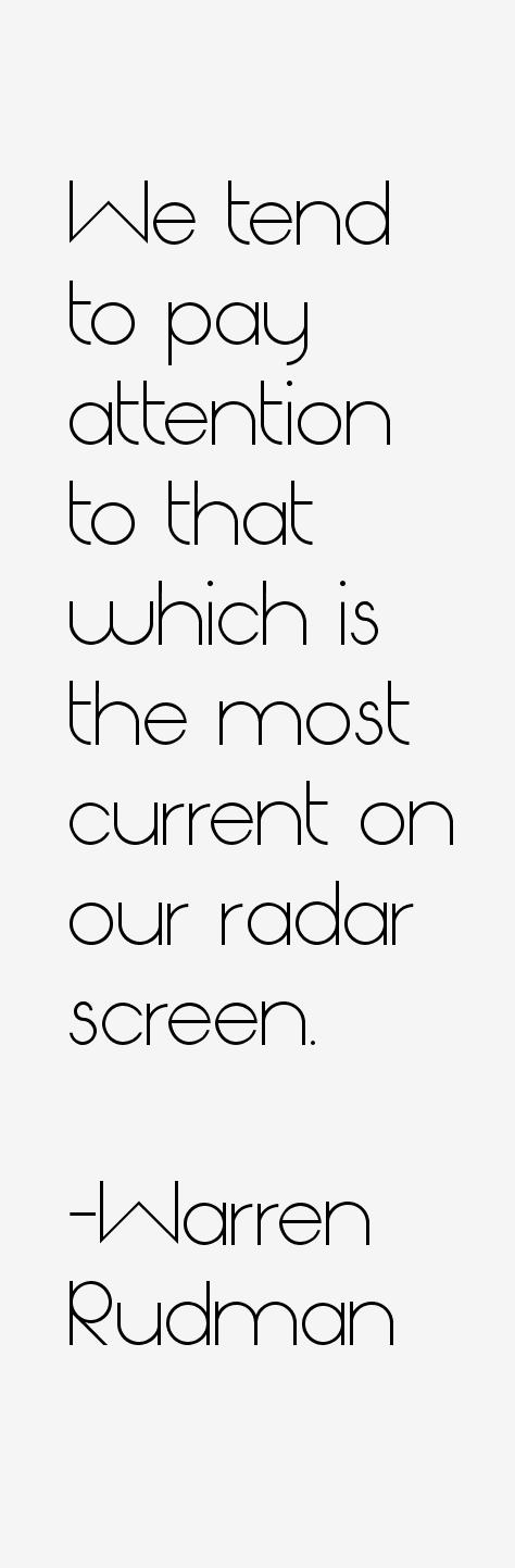 Warren Rudman Quotes
