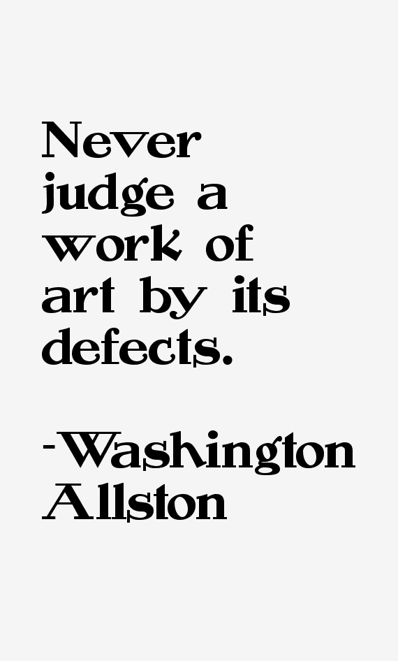 Washington Allston Quotes