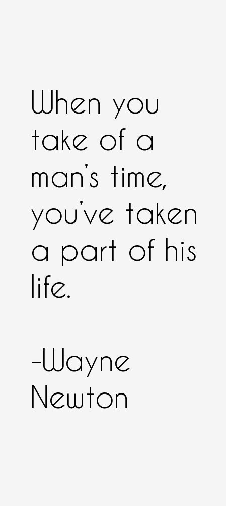 Wayne Newton Quotes