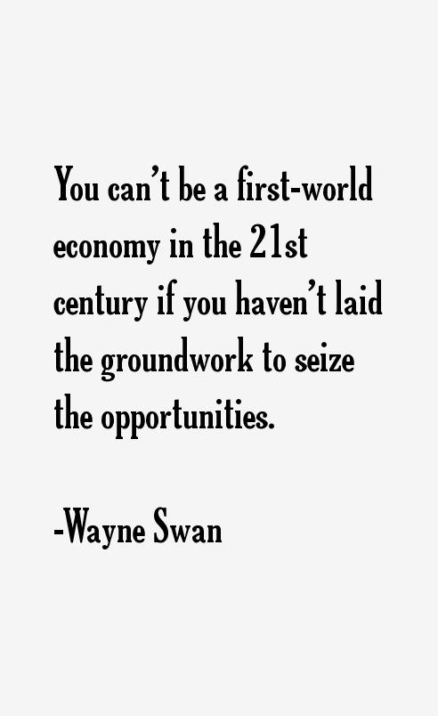 Wayne Swan Quotes