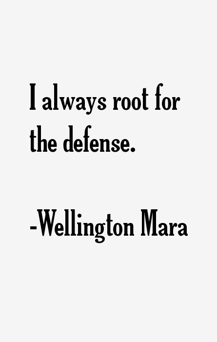 Wellington Mara Quotes