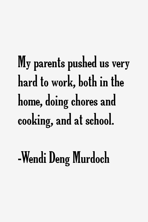 Wendi Deng Murdoch Quotes