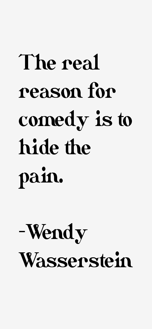 Wendy Wasserstein Quotes