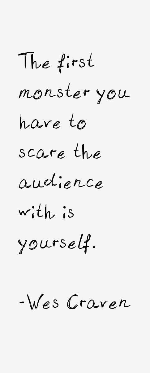 Wes Craven Quotes