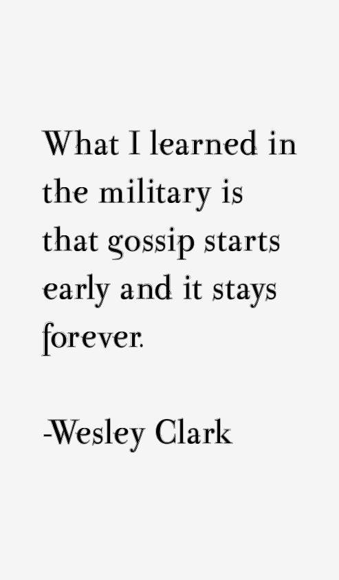 Wesley Clark Quotes