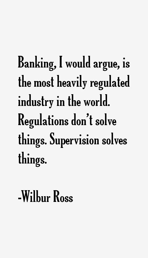 Wilbur Ross Quotes