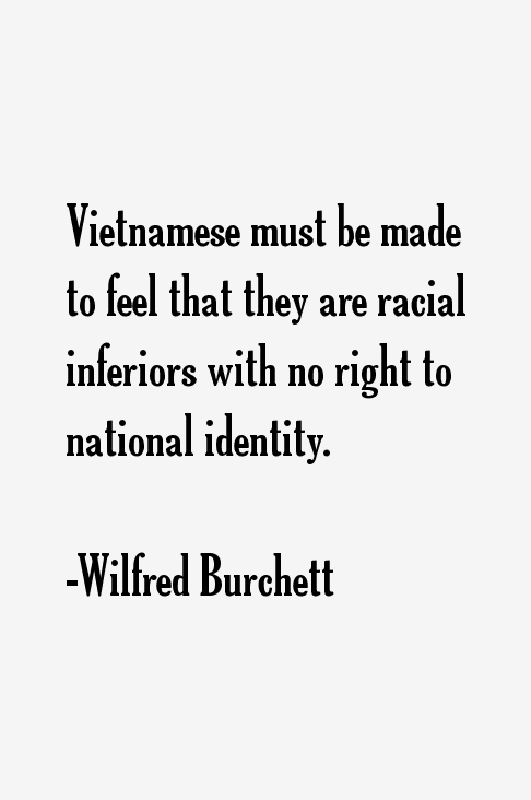 Wilfred Burchett Quotes
