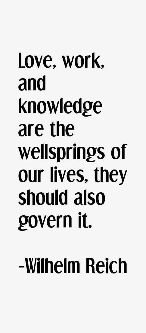 Wilhelm Reich Quotes