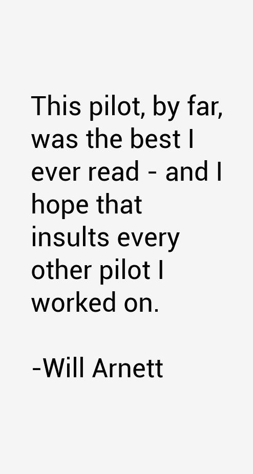 Will Arnett Quotes