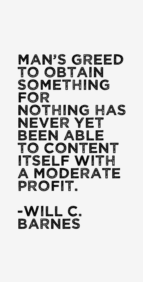 Will C. Barnes Quotes