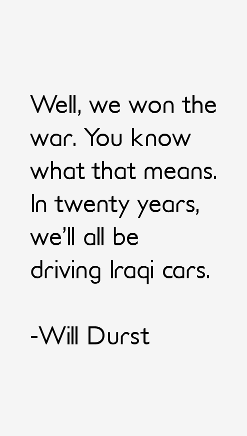 Will Durst Quotes