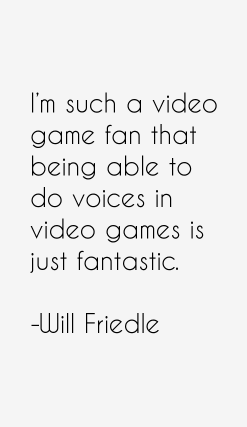 Will Friedle Quotes