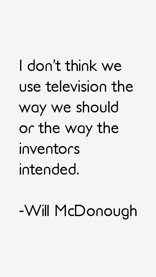 Will McDonough Quotes