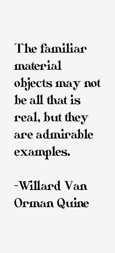 Willard Van Orman Quine Quotes