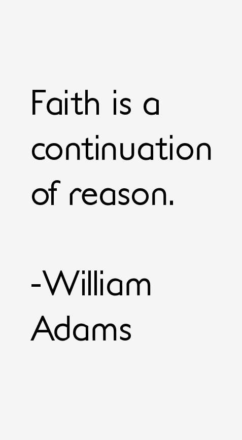William Adams Quotes