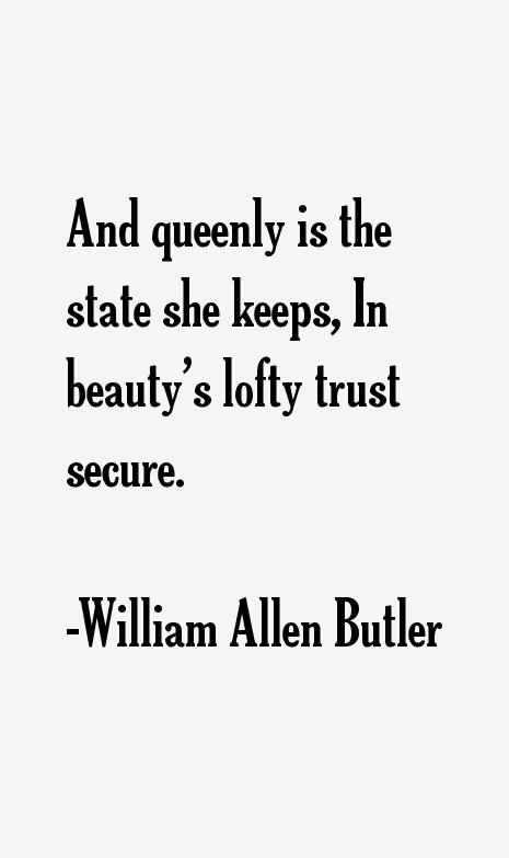 William Allen Butler Quotes