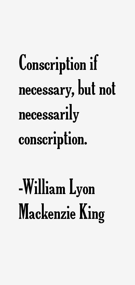 the success of william lyon mackenzie king