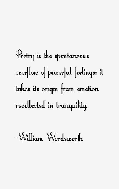 William Wordsworth Quotes & Sayings