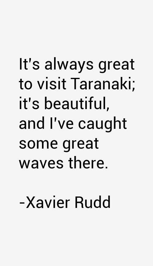 Xavier Rudd Quotes
