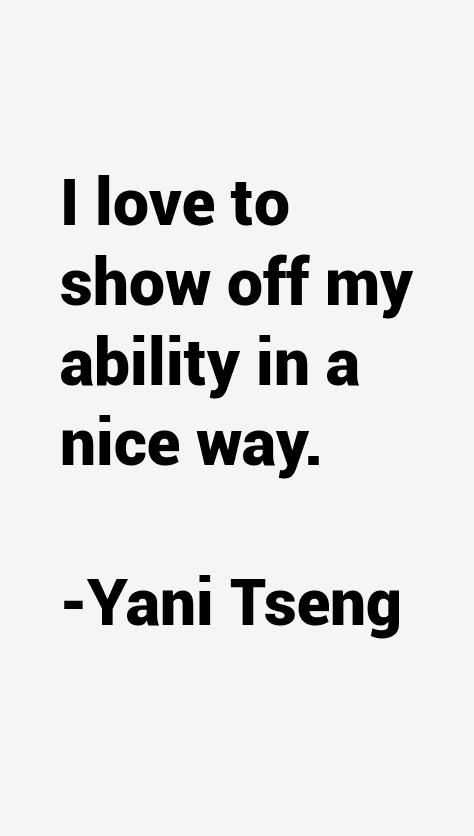 Yani Tseng Quotes