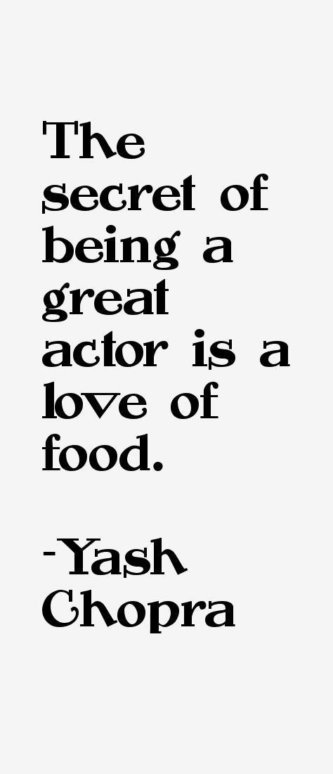 Yash Chopra Quotes