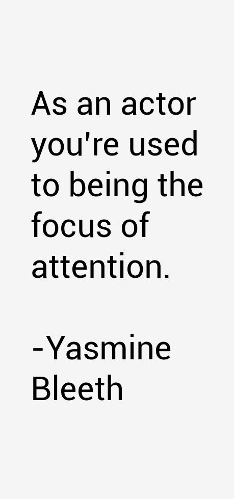 Yasmine Bleeth Quotes