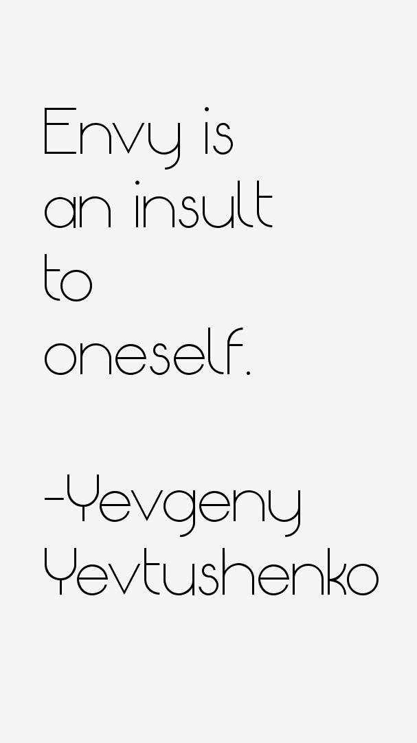 Yevgeny Yevtushenko Quotes