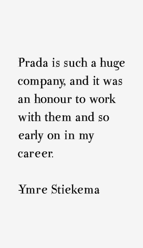 Ymre Stiekema Quotes
