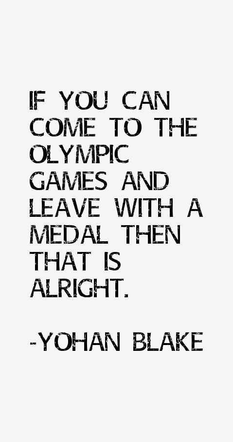 Yohan Blake Quotes