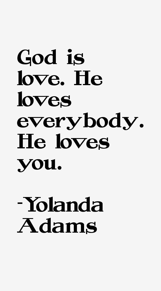 Yolanda Adams Quotes